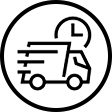 super-rush-shipping-truck-icon